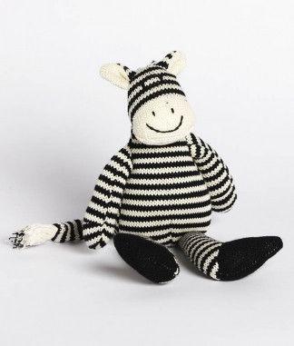 Nana Huchy - Zac The Zebra Rattle - Hugs For Kids