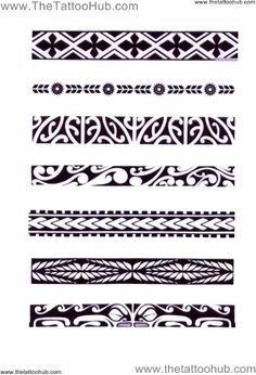 Polynesian Arm Bands | ... Tattoo Hub: Tattoo`s by Type » Polynesian Tribal » polynesian