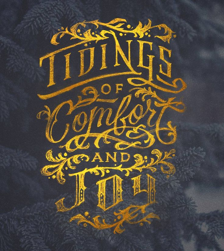 Tidings of Comfort and Joy by Dan Lee