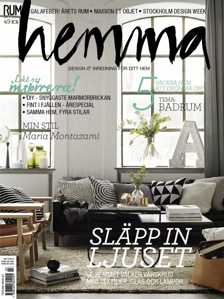 Styling anna m rselius photo kristofer johnsson cover for Beautiful homes com