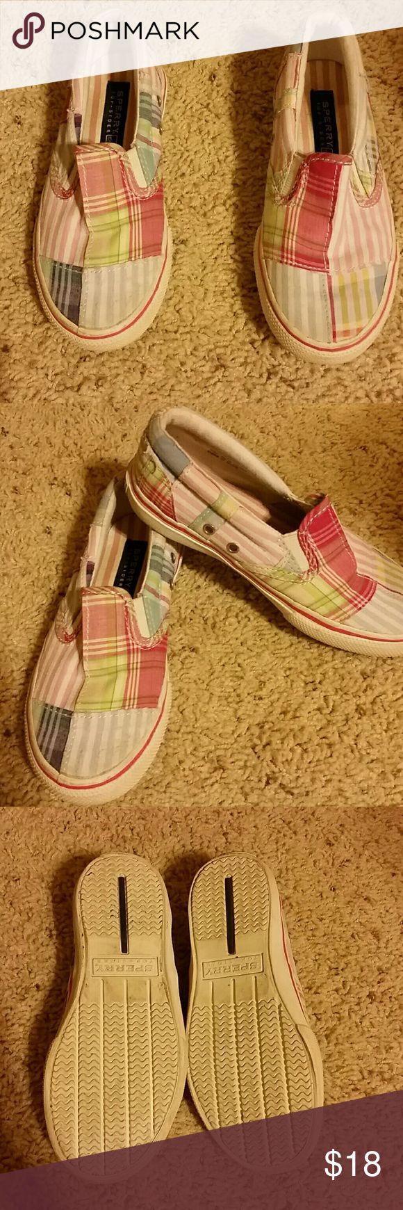 Girls Sperry Top Sliders Very cute casual girls Sperry slip on shoes. Sperry Top-Sider Shoes
