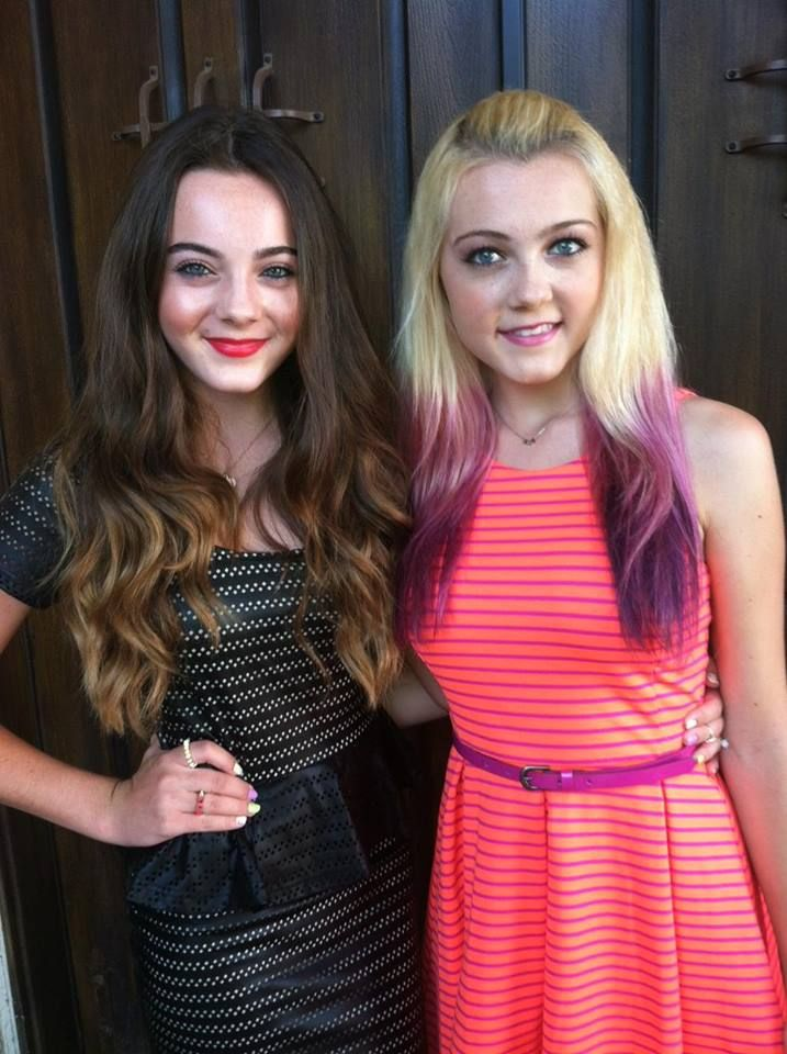 Ava Allan and Alexi Blue. 2 of some of my favorite YouTubers. They are also sisters but Blue is Alexi's middle name.