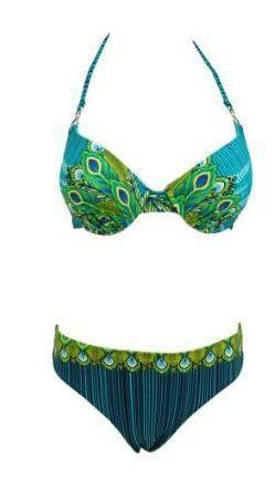 Peacock Bikini