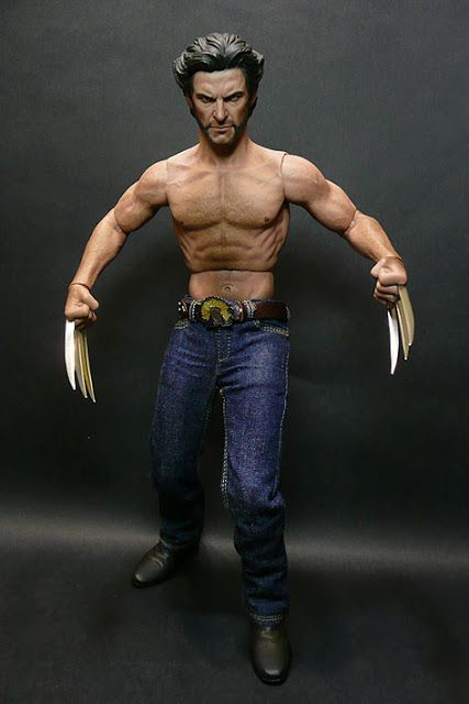 toyhaven Hot Toys Wolverine Review III Going Topless