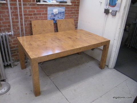 Milo Baughman style parsons table in 17 Brook St, Staten Island, NY 10301, USA ~ Apartment Therapy Classifieds