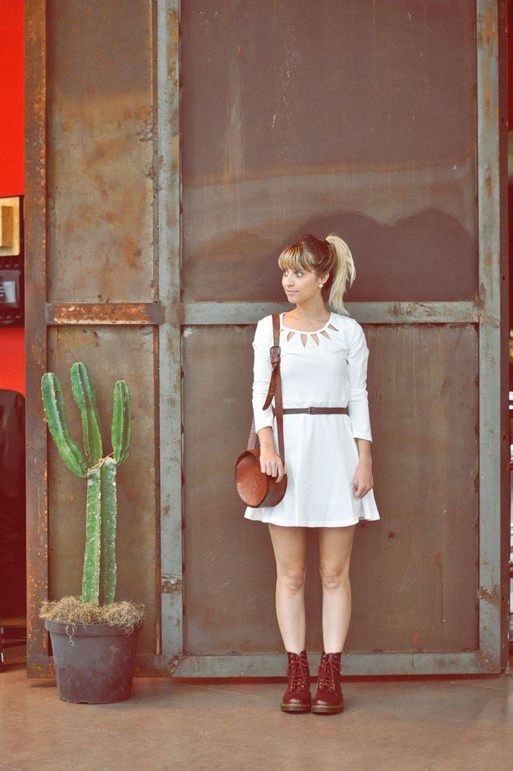 Vestido e coturno - Tudo Orna | Maior blog de Moda de Curitiba