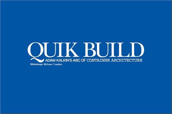 architecture and hygiene - quik build abc