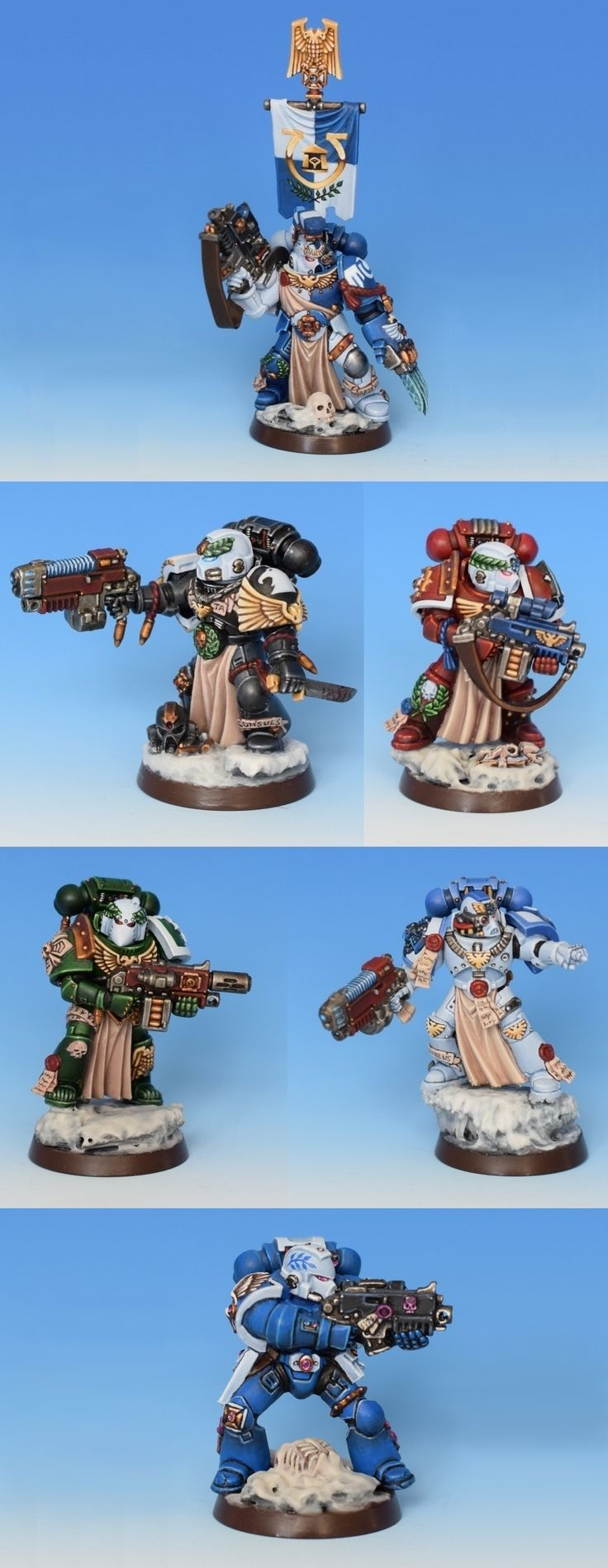 Sternguard Veteran Squad Darius (Ultramarines Honour Company)