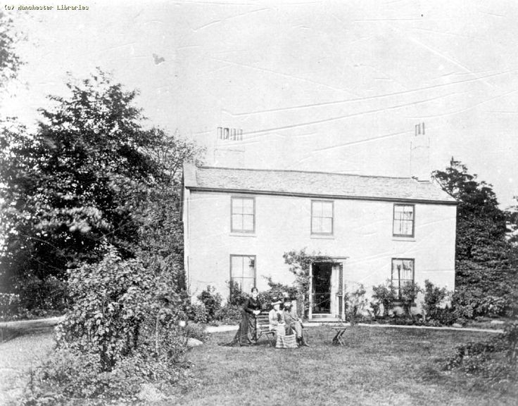 Cottage in Moss Side - with family (1884)