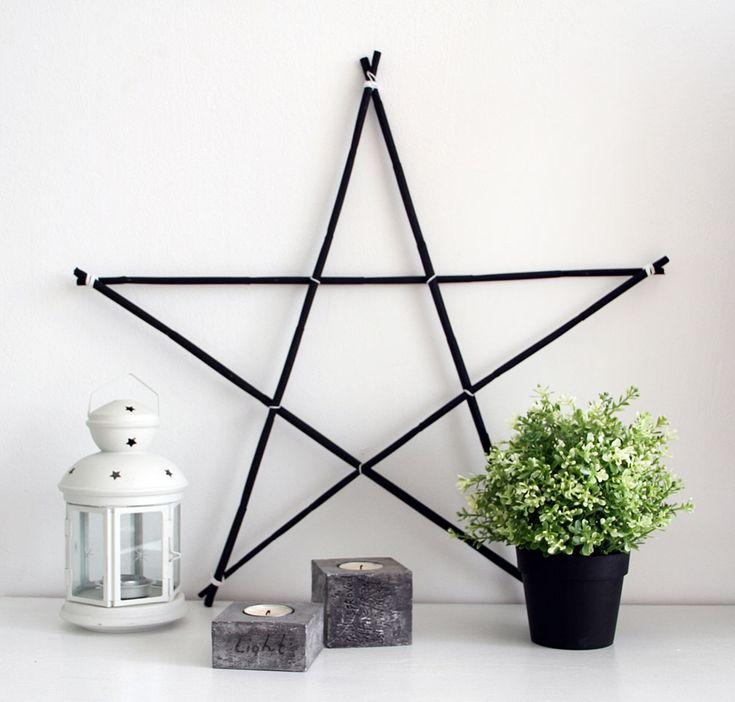 Haz tu propia estrella de madera