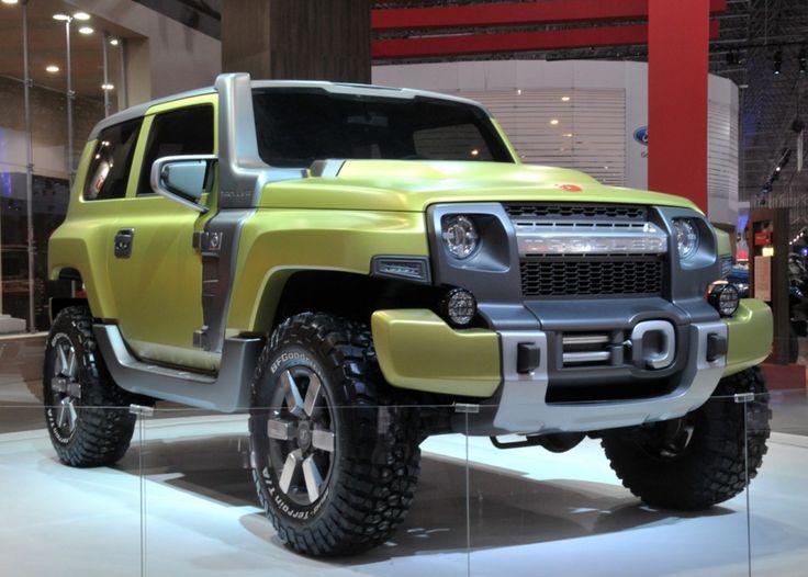 2015 ford bronco concept  Troller TRX Concept debuts in Brazil