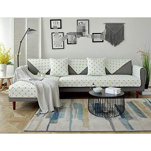 Amazon Com Non Slipping Sofa Slipcover Thicken Solid Color