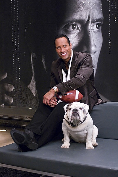 The Game Plan - Dwayne Johnson reminds me SO DARN MUCH of Brady, especially in this movie....Oh that's HILARIOUS! Their so much alike! ;) So funny.... :D