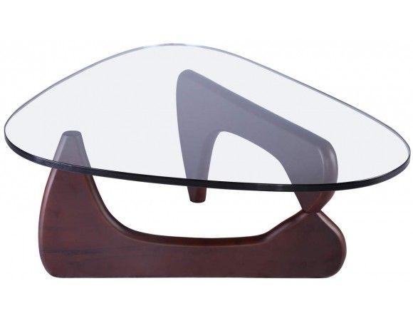 Table basse Noguchi - noyer