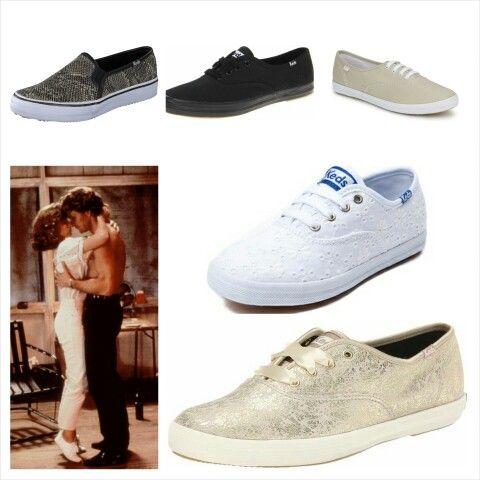 Wie kent ze niet, de witte gympen van Baby uit #dirtydancing? Deze schoenen van #Keds zijn helemaal hip in het classic model maar ook in een leuke print! Je shopt ze in de #goodiesshop #Zoutelande