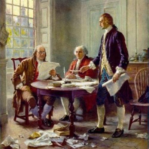 Ben Franklin, John Adams, Thomas Jefferson