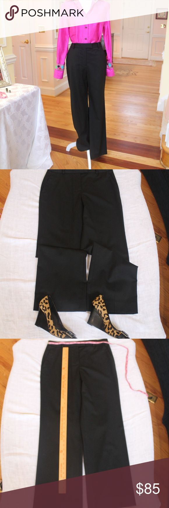 """PRICE WILL DROP SO WATCH THESE Brooks Bros pants WHAT IF... You liked this listing, but didn't """"like"""" it? How would you know when the price is dropped? So, don't forget to """"like"""" it by clicking the HEART button. Then, when the price drops, you'll know. See other listings for Brooks Bros jacket, skirt, and Andrea Becker pink silk blouse.(It's gorgeous!)  SEE MY OTHER LISTINGS FOR SHOES, ACCESSORIES, and DRESSES. Not everything has been posted yet, so follow me as a seller. Brooks Brothers…"""