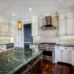 Griffin Custom Cabinets - Home Kitchen Commercial Stove