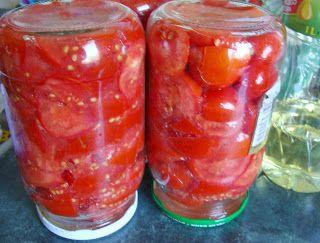 W Mojej Kuchni Lubię.. : pomidory na zimę...