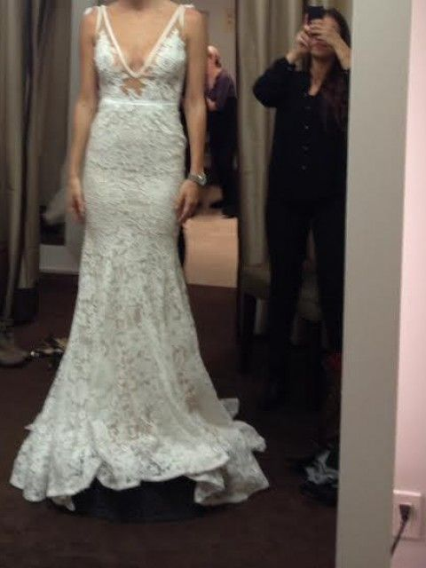 Inbal Dror Bevin Size 3 Wedding Dress OnceWed