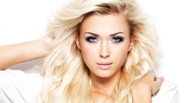 Шикарный макияж для голубых глаз ::: onelady.ru ::: #makeup #eyes #eyemakeup