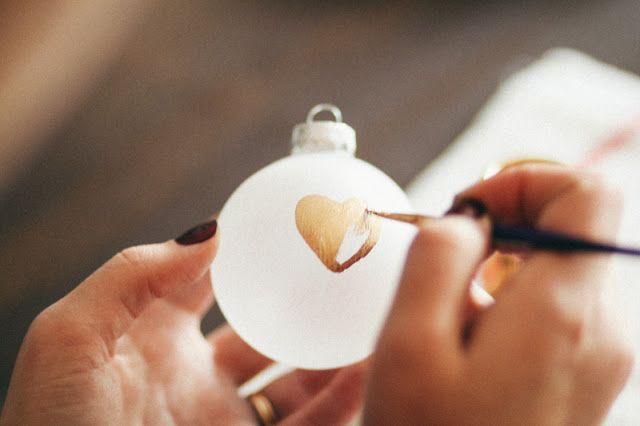 25 Days of Craftsmas: Heart of Gold Ornament~GOLDMINE JOURNAL