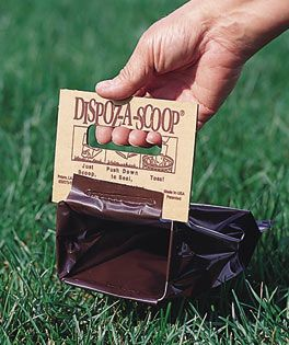 Dog Pooper Scoopers: Dispoz-A-Scoop Biodegradable Waste Cleanup Bags for Dogs. Surely help! #shopping #dogs #stuffs