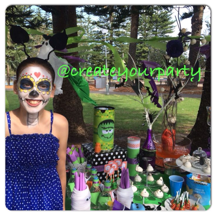 Partyideas  Ideas para fiestas  Halloween shelly park