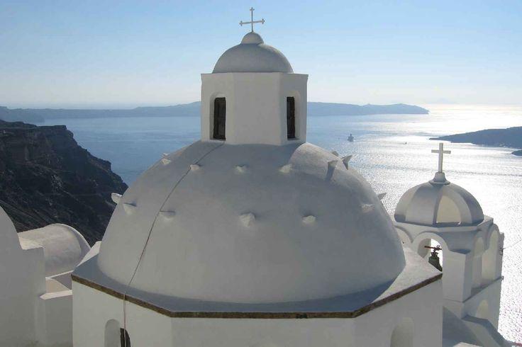 Thira: Chiesa Agios Minas