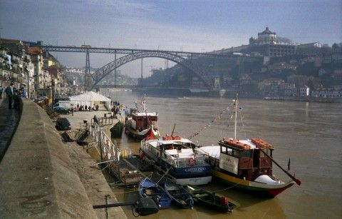 Ribeira in Porto
