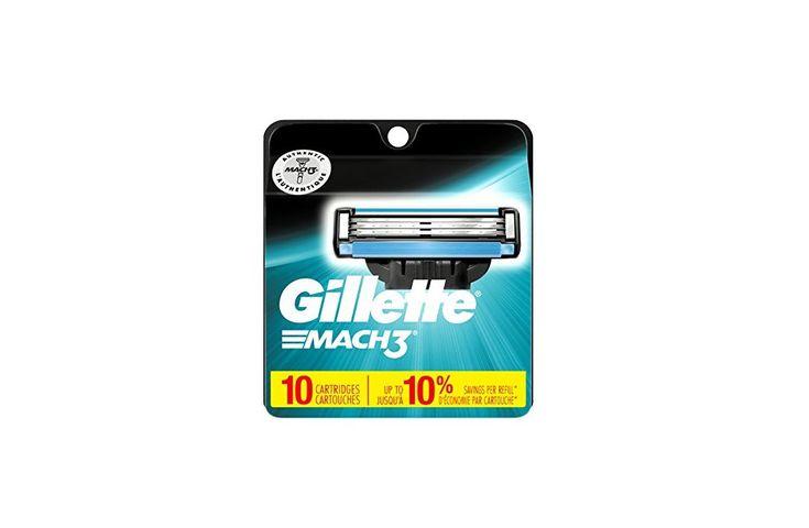 10 Count Gillette Mach3 Mens Razor Blades for $13.89 at Amazon
