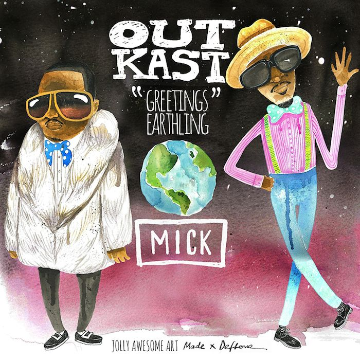 MICK Celebrates The Reunion Of Legendary ATL Duo Outkast With The Release Of His Latest Mix 'GREETINGS EARTHLING: Outkast Rarities And Remix...