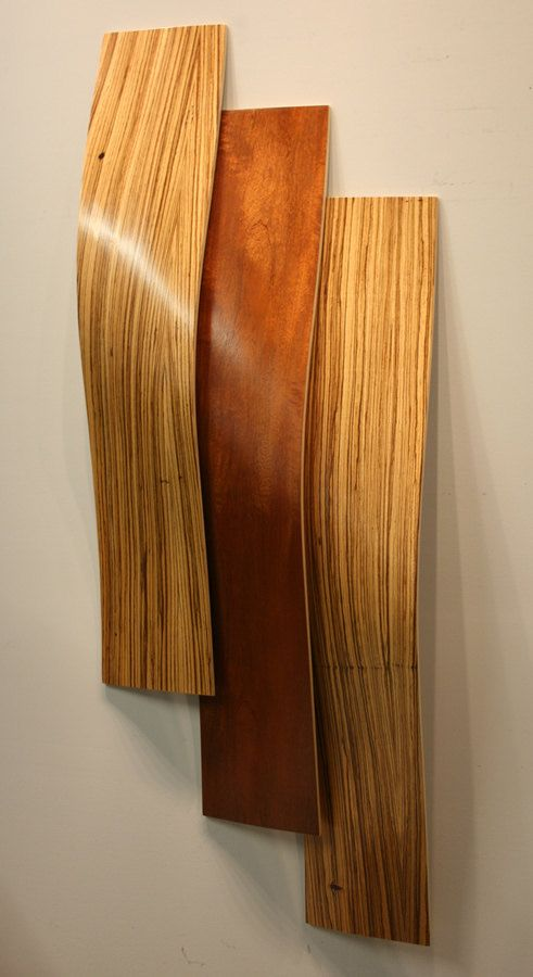 Etsy. Curved wood sculpture.