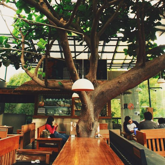 Photo tour of Bandung, Indonesia | Selasar Sunaryo, a really nice place for drinking delicious coffee in Bandung.