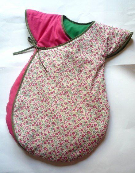 baby sleeping bag diy from free template