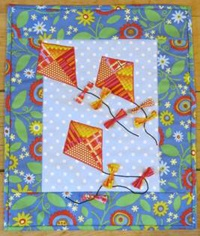 Kite Tales, kit from The Quilt Shop @ Vac N Sew http://www.quiltshopnh.com/the_quilt_shop_004.htm