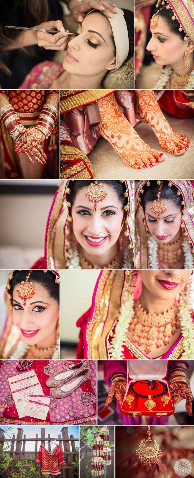 Indian Bride: Details || http://elephantess.blogspot.com