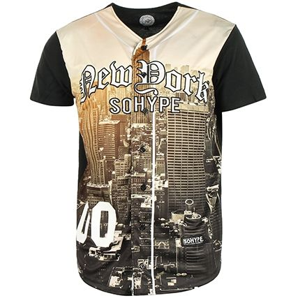 Maillot de Baseball So Hype New York Multi - LaBoutiqueOfficielle.com