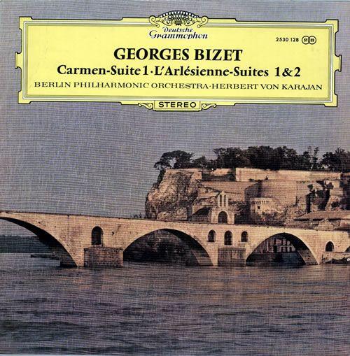 Bizet, Georges Carmen - Suite 1 L'Arlesienne Suites 1 & 2 Maxi 33T