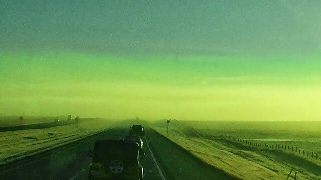 Mid dawn Saskatchewan