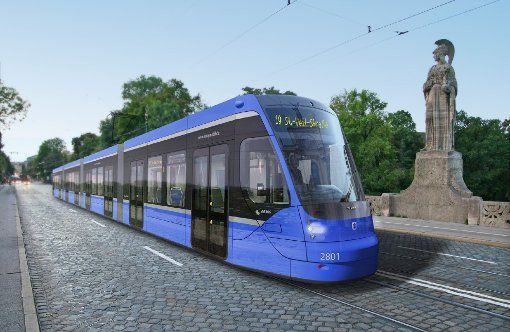 straßenbahn münchen | Schnittiger als die Vario-Tram: Die neue Straßenbahn für München ...