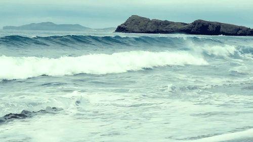 Ocean Waves GIF beach ocean nature waves animated sea tide gif