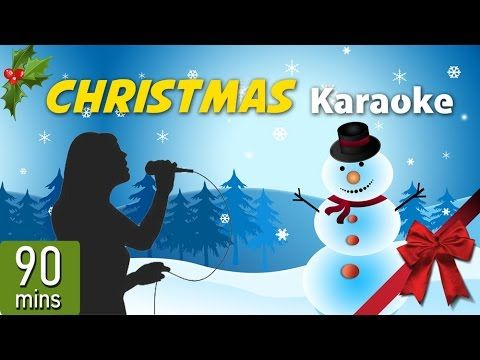 90 minutes with the best Christmas instrumentals with lyrics for karaoke.
