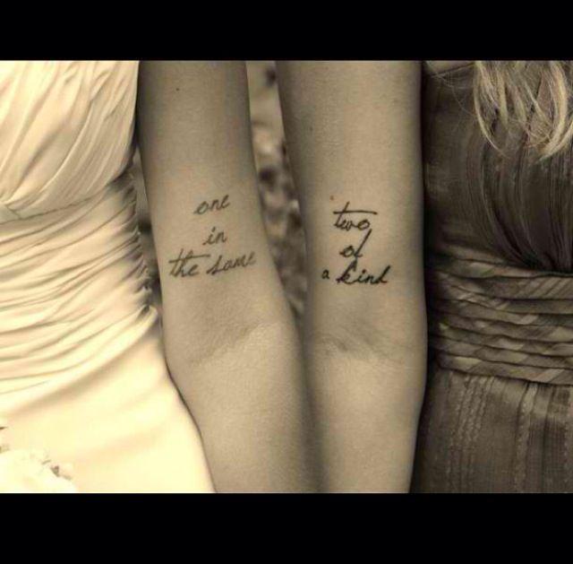 BFF Tattoo's :)