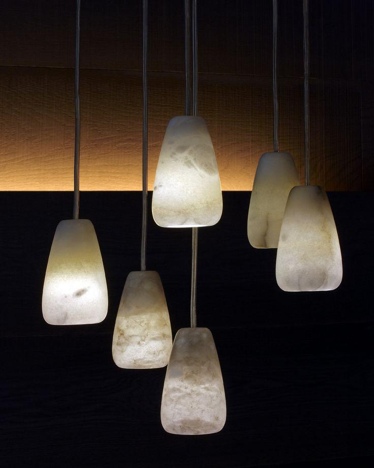Beautiful Natural Stone Pendant Lights