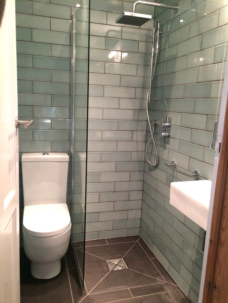 Small, but perfectly formed. Our newly converted 1.2 m x 1.6 m wet room.