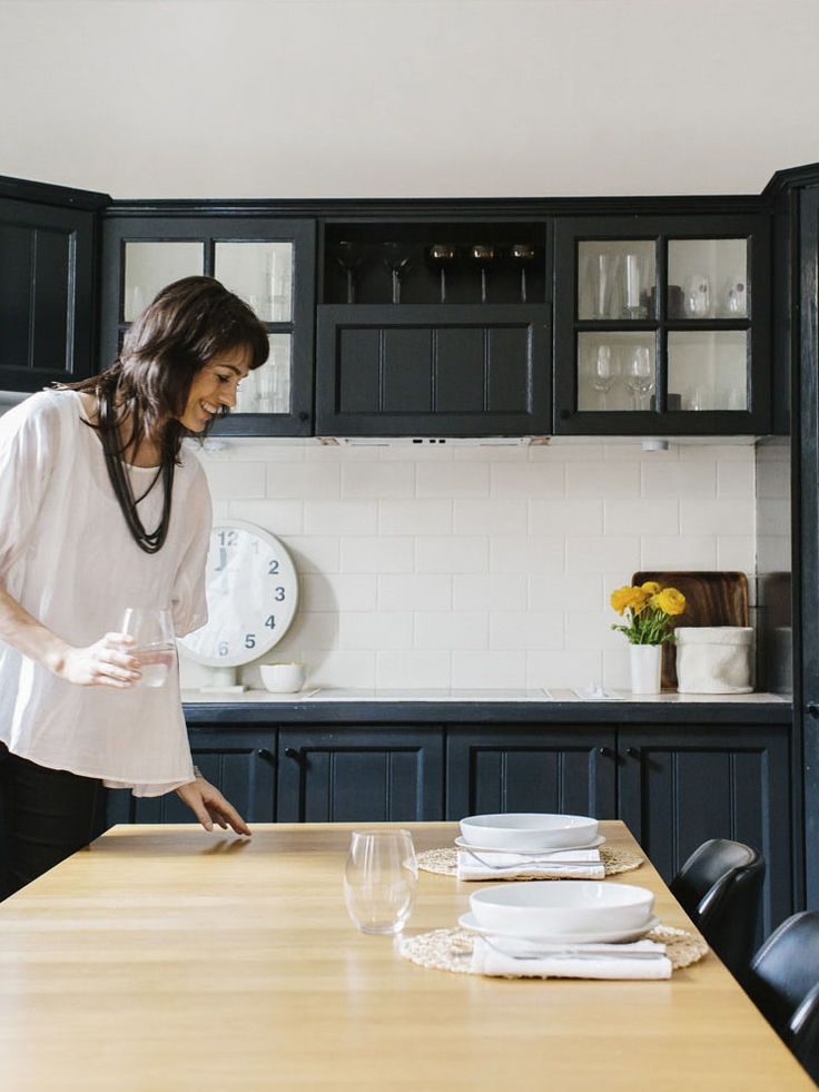 In the kitchen with Kerrie Golias - owner of Voyager Candles  PHOTO Tara Pearce