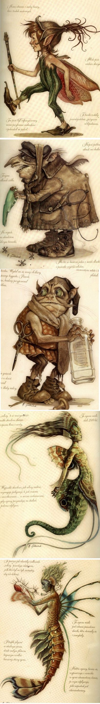 Goblins  Fairies by Tony Di Terlizzi: My children loved these stories and I enjoyed reading to them. Such detailed drawings.
