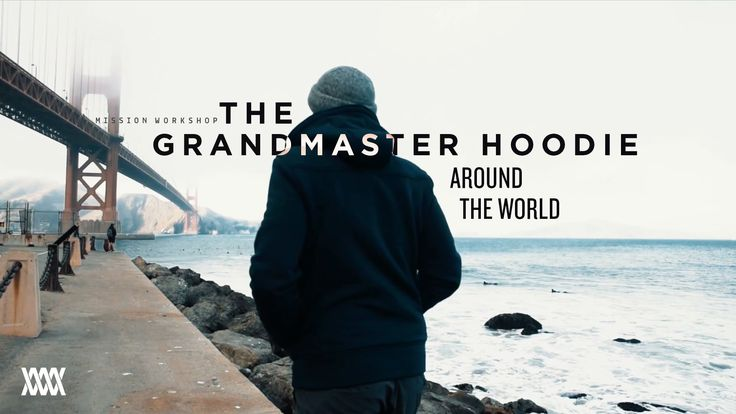 The Grandmaster : High-performance Tailored Hoodie by Mission Workshop