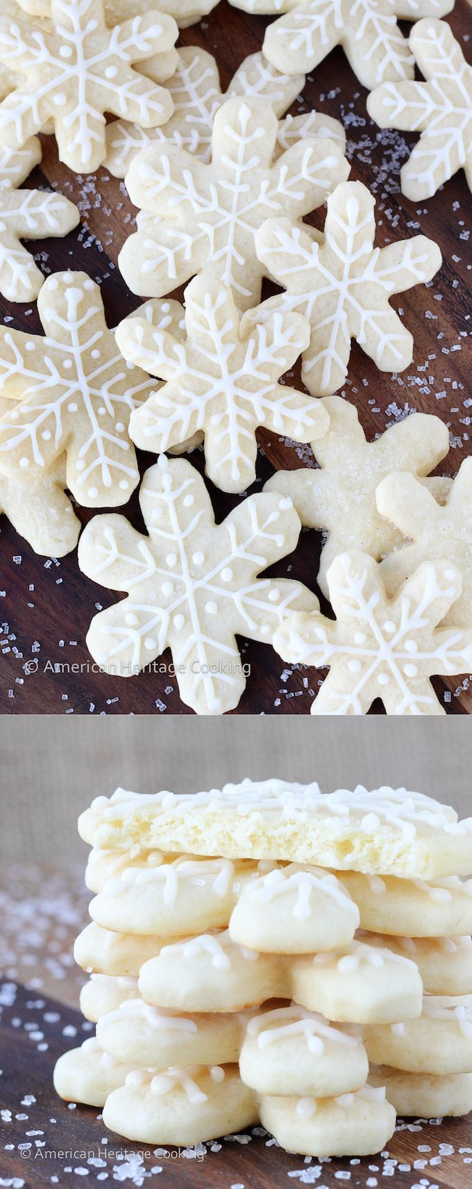 Grandmas Old Fashioned Soft Sugar Cookies - Pillowy soft with just a hint of vanilla! The easiest rolled cookie recipe that I've made!